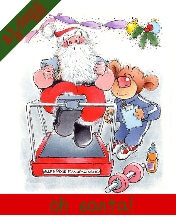 oh santa finished cover